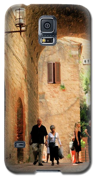 Water Closet Queue Galaxy S5 Case