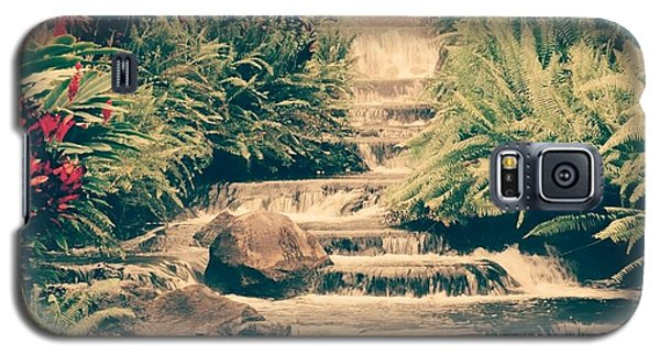 Galaxy S5 Case featuring the photograph Water Creek by Sheila Mcdonald