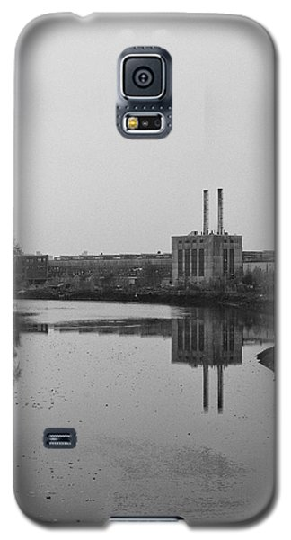 Galaxy S5 Case featuring the photograph Water Factory by Lora Lee Chapman