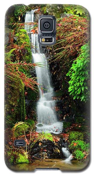 Waterfall At Kubota Garden Galaxy S5 Case