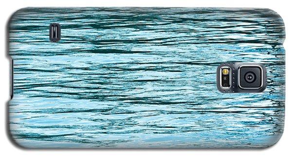 Lake Michigan Galaxy S5 Case - Water Flow by Steve Gadomski