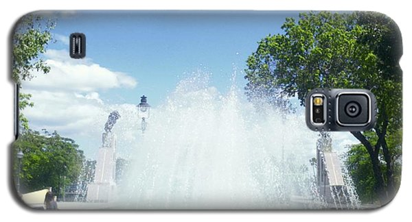 Water Fountain Ponce, Puerto Rico Galaxy S5 Case