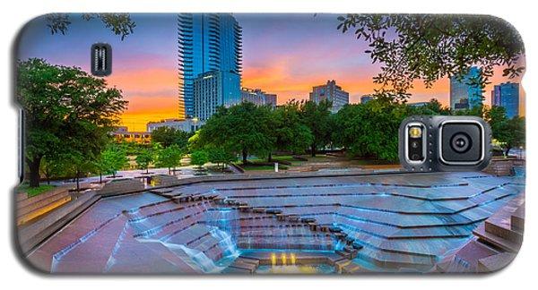 Water Gardens Sunset Galaxy S5 Case