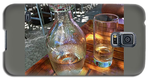 Galaxy S5 Case featuring the photograph Water Glass And Pitcher by Angela Annas
