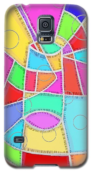 Water Glass Of Light And Color Galaxy S5 Case by Jeremy Aiyadurai