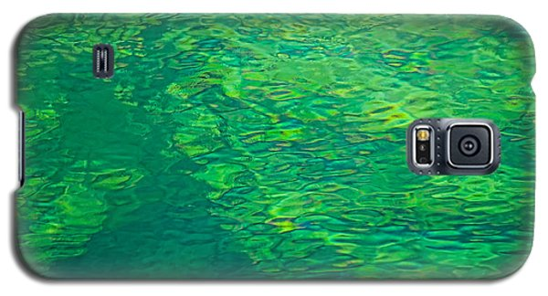 Water Green Galaxy S5 Case by Britt Runyon