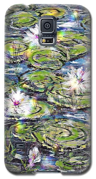 Water Lilies And Rainbows Galaxy S5 Case