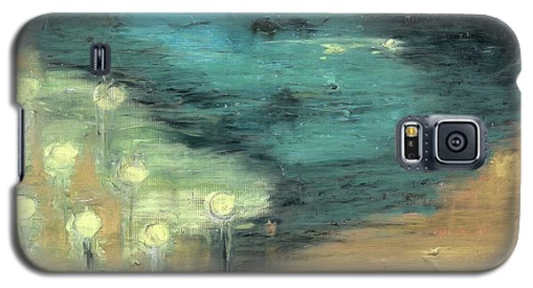 Water Lilies At The Pond Galaxy S5 Case by Michal Mitak Mahgerefteh