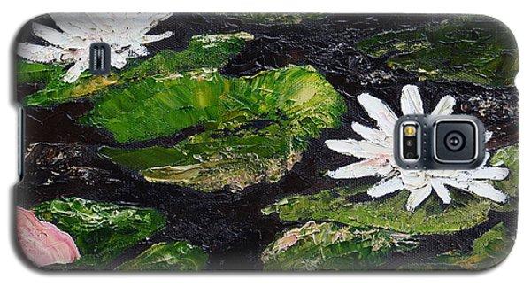Water Lilies I Galaxy S5 Case by Marilyn Zalatan