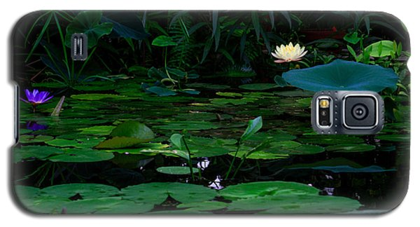 Water Lilies In The Pond Galaxy S5 Case