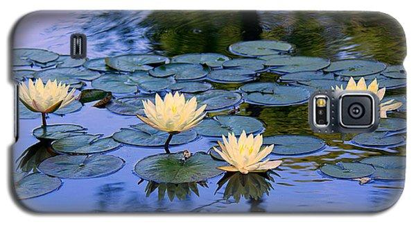 Water Lilies Galaxy S5 Case by Lisa L Silva
