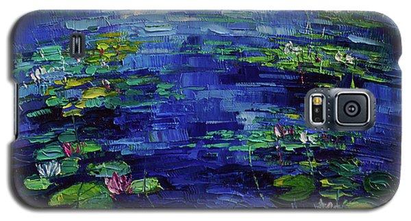 Water Lilies Magic Galaxy S5 Case