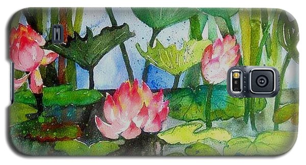 Water Lillies Two Galaxy S5 Case