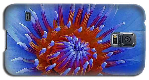 Water Lily Center Galaxy S5 Case