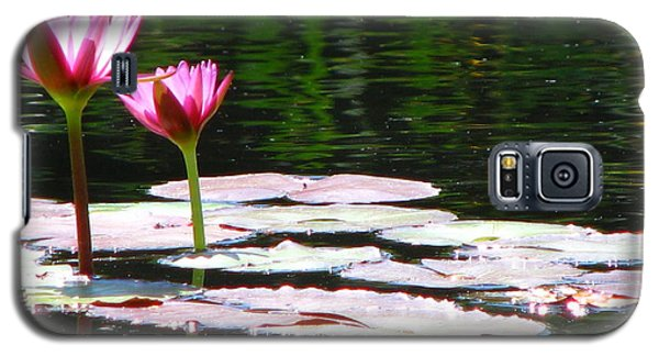 Galaxy S5 Case featuring the photograph Water Lily by Greg Patzer