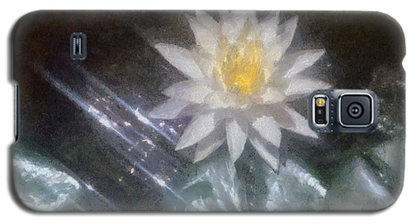 Water Lily In Sunlight Galaxy S5 Case by Jeff Kolker