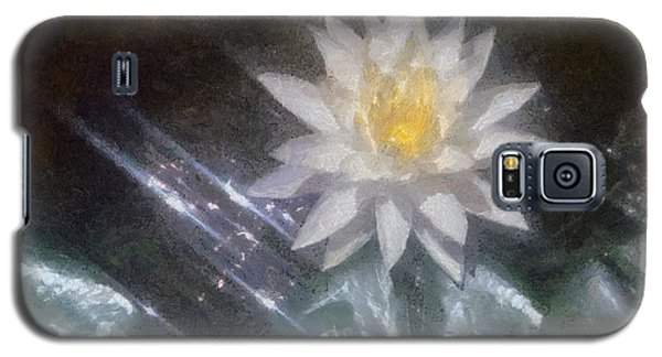 Water Lily In Sunlight Galaxy S5 Case