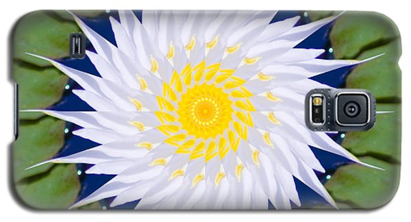 Water Lily Kaleidoscope Galaxy S5 Case by Bill Barber