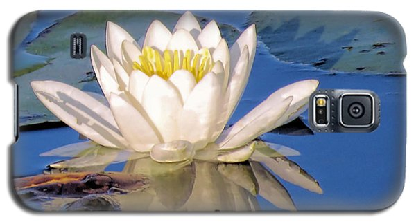 Water Lily Reflection Galaxy S5 Case