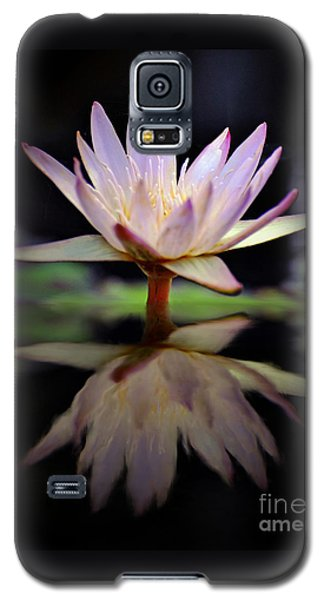 Galaxy S5 Case featuring the photograph Water Lily by Savannah Gibbs