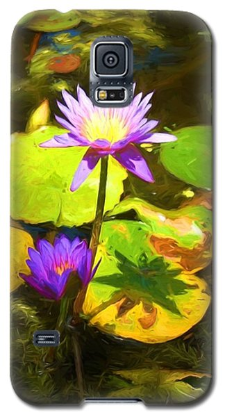 Water Lily Van Goh Galaxy S5 Case
