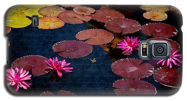 Water Lily World Galaxy S5 Case