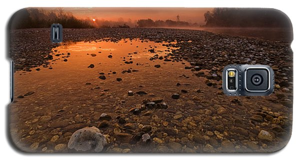 Galaxy S5 Case featuring the photograph Water On Mars by Davorin Mance