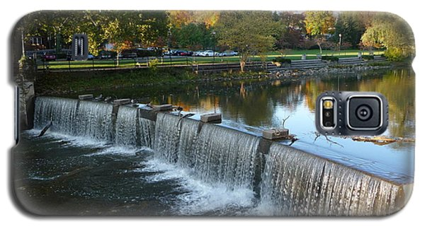 Galaxy S5 Case featuring the photograph Water Over The Dam by Joel Deutsch