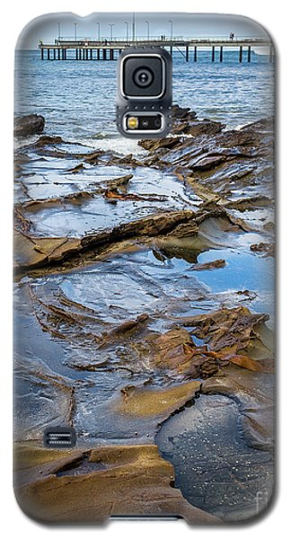 Galaxy S5 Case featuring the photograph Water Pool by Perry Webster