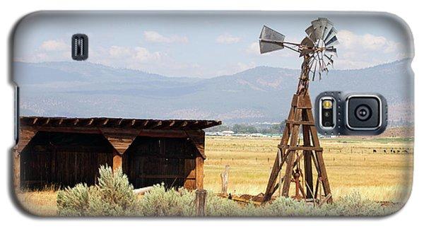 Water Pumping Windmill Galaxy S5 Case