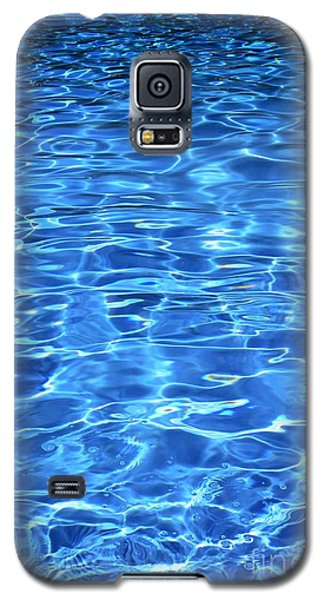 Galaxy S5 Case featuring the photograph Water Shadows by Ramona Matei