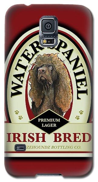 Water Spaniel Irish Bred Premium Lager Galaxy S5 Case