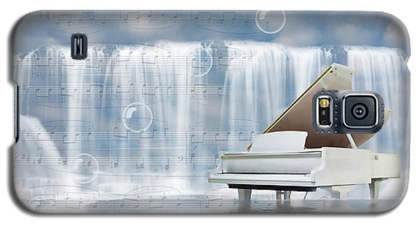 Water Synphony For Piano Galaxy S5 Case