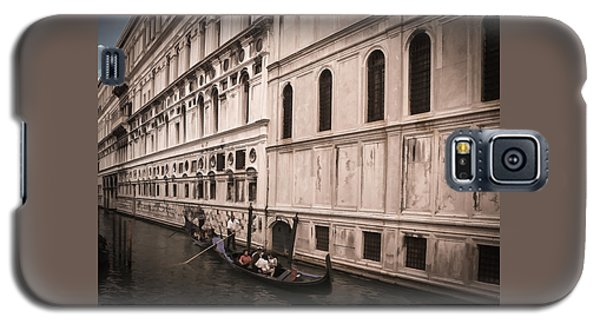 Water Taxi In Venice Galaxy S5 Case