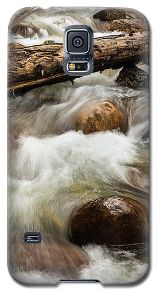 Galaxy S5 Case featuring the photograph Water Under The Bridge by Alex Lapidus