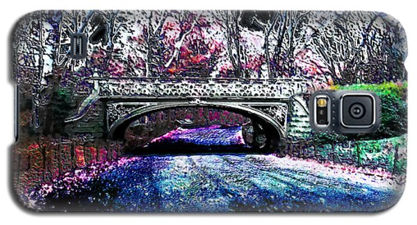 Galaxy S5 Case featuring the photograph Water Under The Bridge by Iowan Stone-Flowers