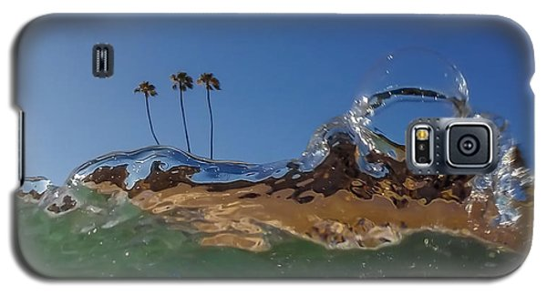 Galaxy S5 Case featuring the photograph Water Works by Sean Foster