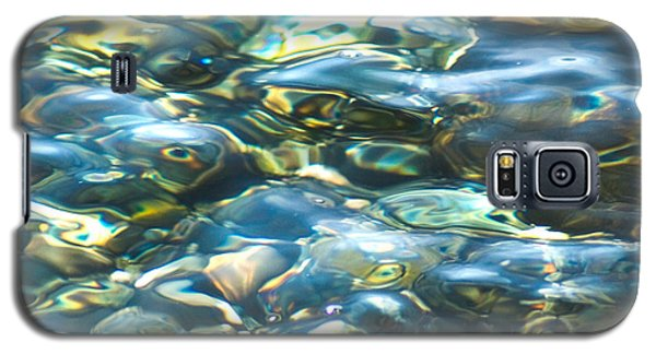 Galaxy S5 Case featuring the photograph Water World, Square by Yulia Kazansky