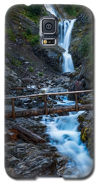 Waterall And Bridge Galaxy S5 Case