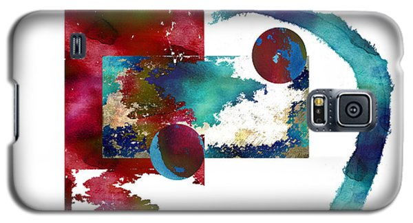 Watercolor Abstract 2 Galaxy S5 Case by Kandy Hurley