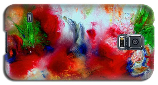 Watercolor Abstract Series G1015a Galaxy S5 Case