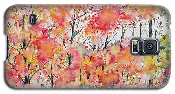 Watercolor - Autumn Forest Galaxy S5 Case
