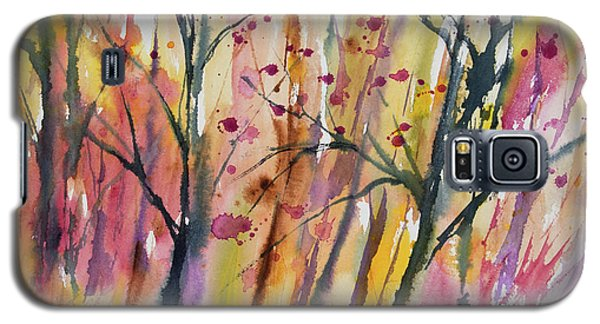 Watercolor - Autumn Forest Impression Galaxy S5 Case