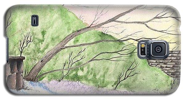 Watercolor Barn Galaxy S5 Case