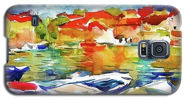 Galaxy S5 Case - Watercolor Boats By Svetlana Novikova ( by Svetlana Novikova