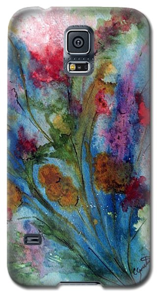 Watercolor Bouquet Galaxy S5 Case by Carol Sweetwood