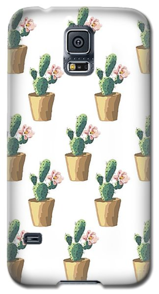 Watercolor Cactus Galaxy S5 Case by Roam  Images