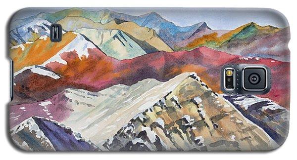 Watercolor - Colorado Elk Range View Galaxy S5 Case