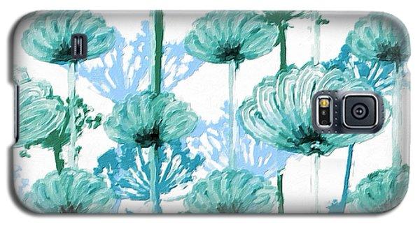 Galaxy S5 Case featuring the digital art Watercolor Dandelions by Bonnie Bruno