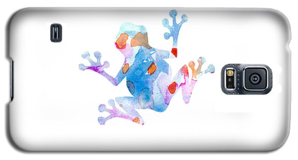 Watercolor Frog Galaxy S5 Case
